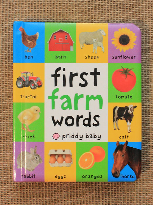 First Farm Word by Priddy Books