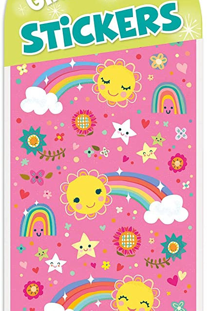 Peaceable Kingdom Rainbows & Stars Stickers