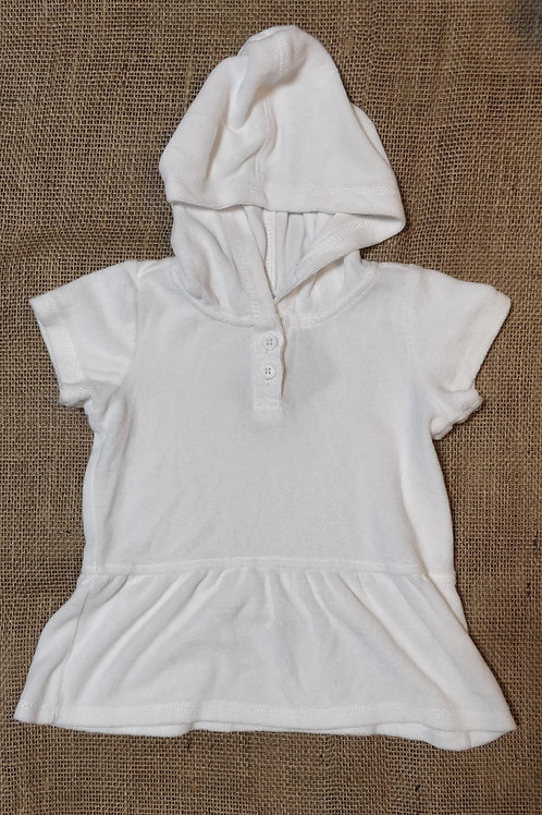 Hanna Andersson Dress -White - 60cm