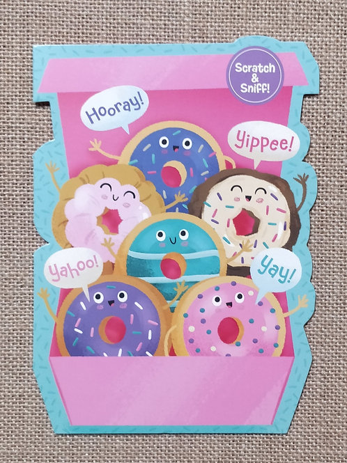Donuts - Peaceable Kingdom Greeting Card