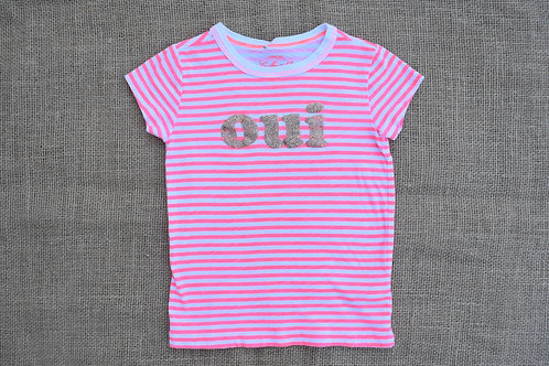 Crewcuts T-Shirt  - Coral - Size 3