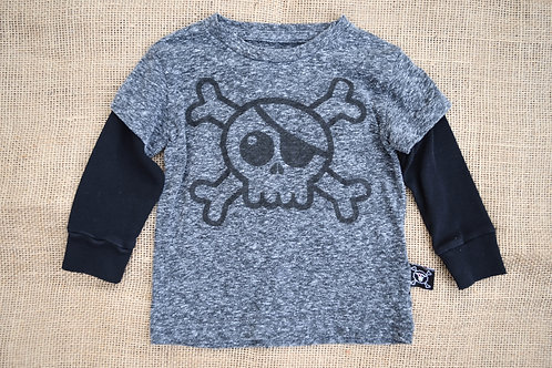 Nununu T-Shirt - Gray - 6-12M