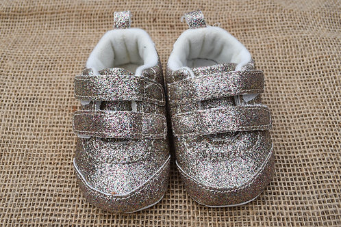 Carter's Crib Shoes - Gold - Size 1 Baby