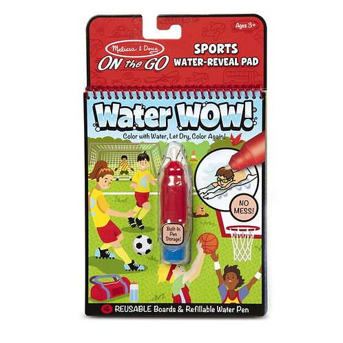 Melissa & Doug Water Wow! Sports Water-Reveal Pad