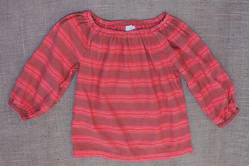 Peek Top - Orange & Pink - Size L (8)