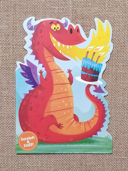 Fire Breathing Dragon - Peaceable Kingdom Greeting Card