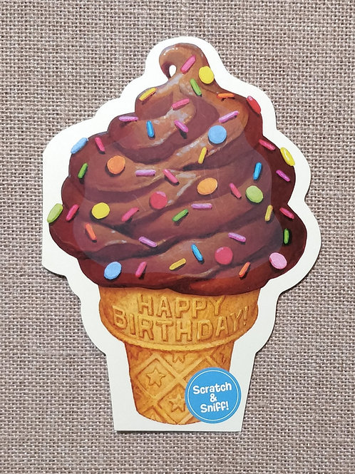Ice Cream - Peaceable Kingdom Greeting Card