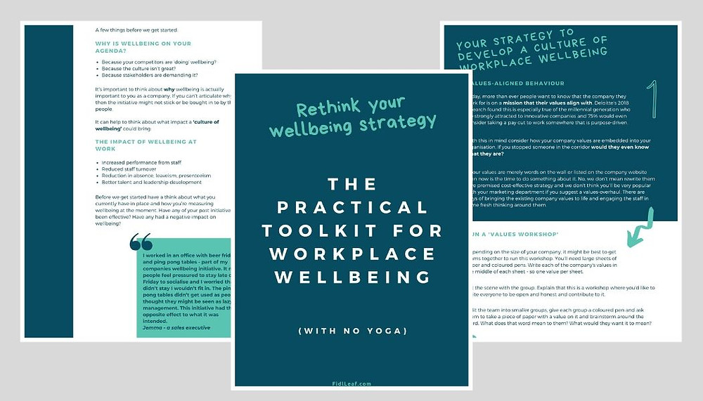 Workplace wellbeing practical toolkit