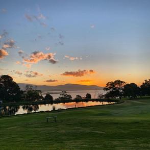 Sunset Shot Facing North