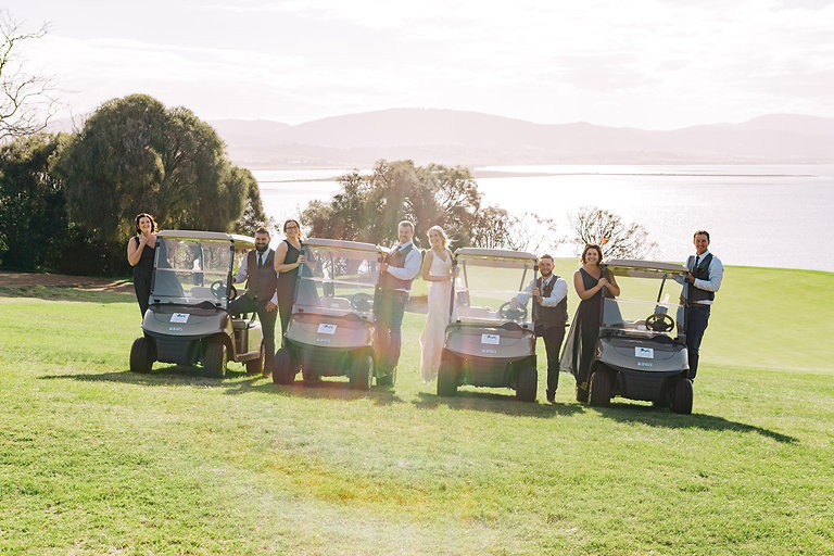 Bridal party in carts.jpg