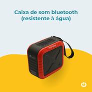 Caixa de som Bluetooth (resistente à água)