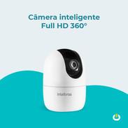 Câmera inteligente Full HD 360º