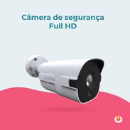 Câmera de segurança Full HD