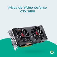 Placa de vídeo Geforce GTX 1660