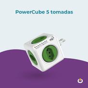 Power Cube 5 tomadas