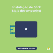 Instalação SSD