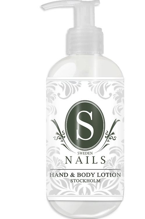 Sweden Nails Hand & Body Lotion STOCKHOLM