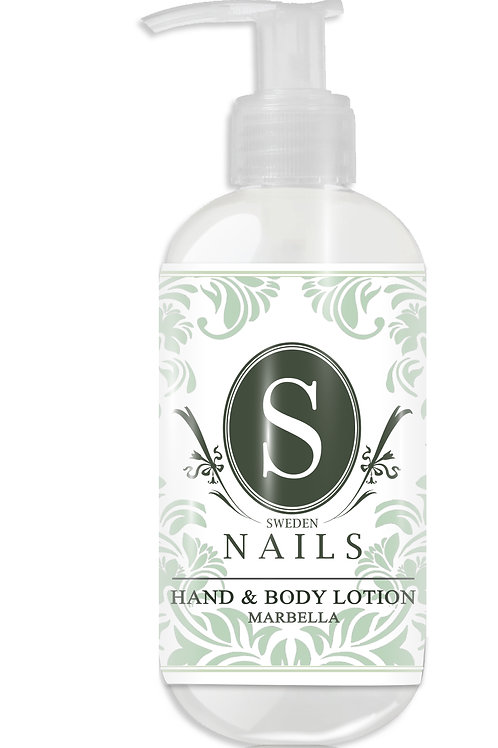 Sweden Nails Hand & Body Lotion MARBELLA