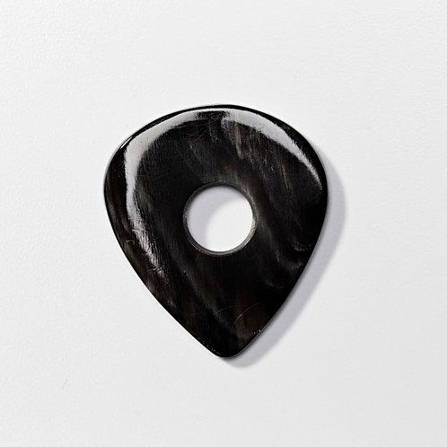 JAZZ pierced - Ram horn - black dominance