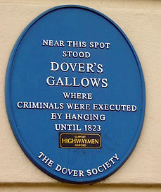 The spot on Tower Hamlets Road, Dover wh