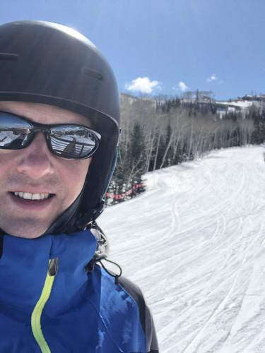 Nathan Dylan Goodwin skiing at Park City