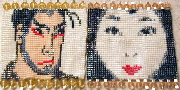 Beaded Faces