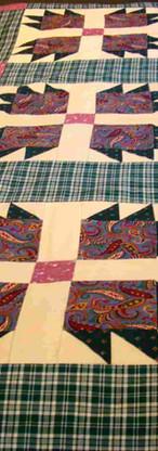 Bear Claw quilt