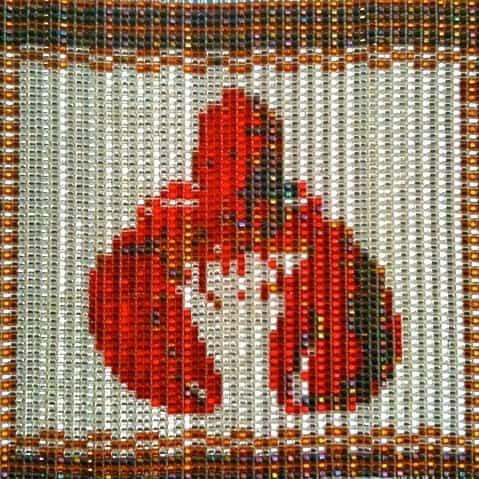 Lobster On-Loom weaving