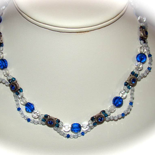 Swarovski necklace - one of my favorites!