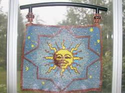 Brick Stitch Bowdoin Sun