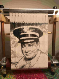 Tapestry of my grandfather, Chester Kenney