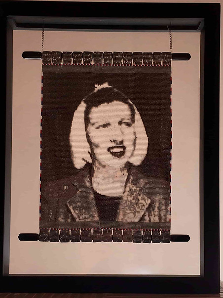 Tapestry of Ana Mae Shellenbarger Savage