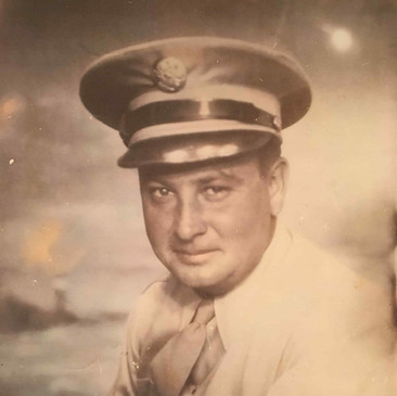 Photograph used for the tapestry of my grandfather, Chester Kenney, Corps of Engineers