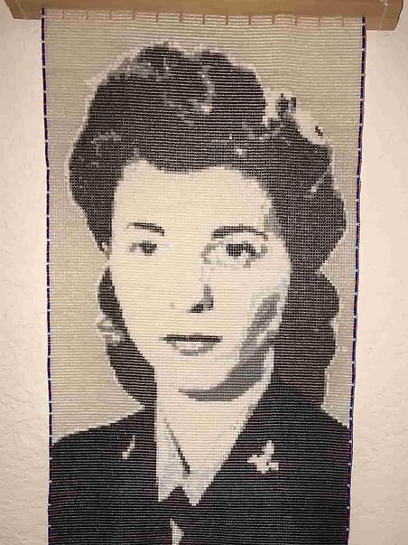Tapestry of my mother-in-law, Doris Neuren