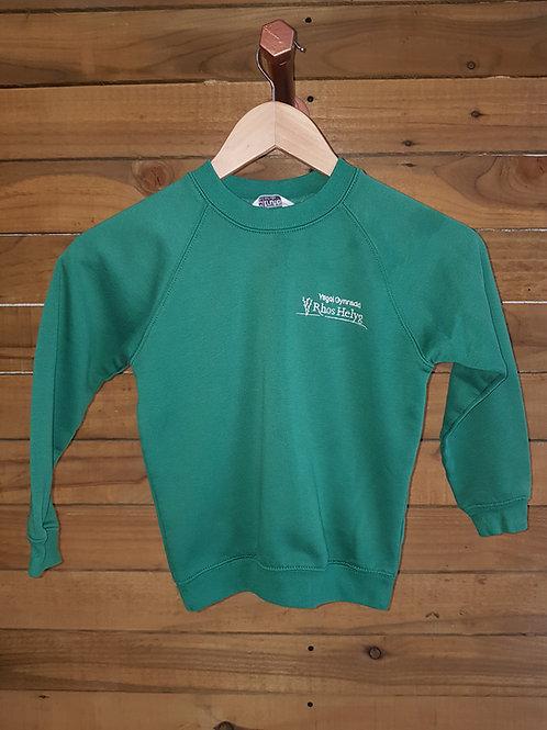 Ysgol Rhos Helyg Sweatshirt,Llangethio & Bronant