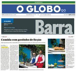 Papilas Gustativas - O Globo/Barra