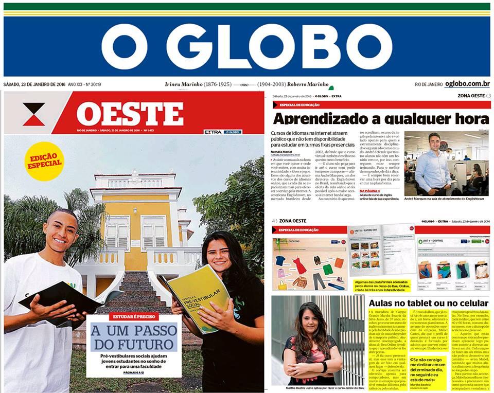 IBEU - O Globo/Zona Oeste