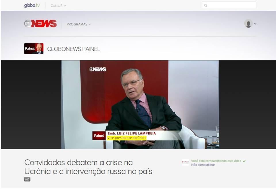 CEBRI - GloboNews