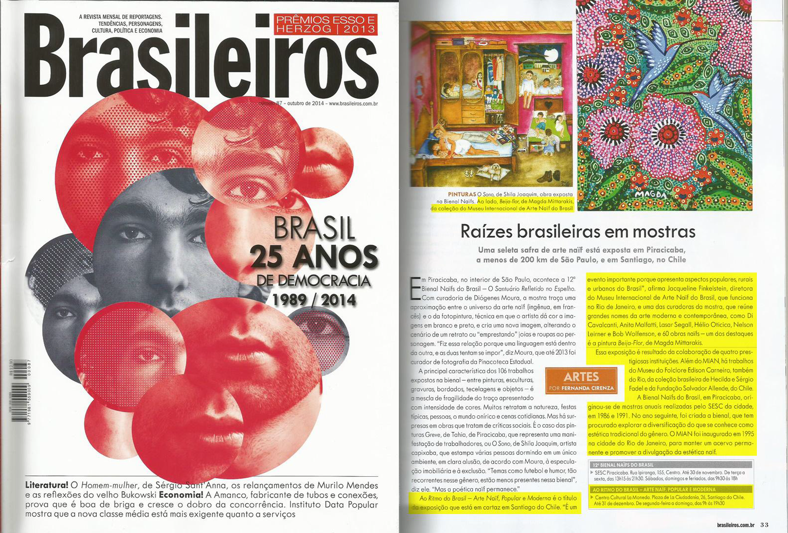 MIAN - Revista Brasileiros