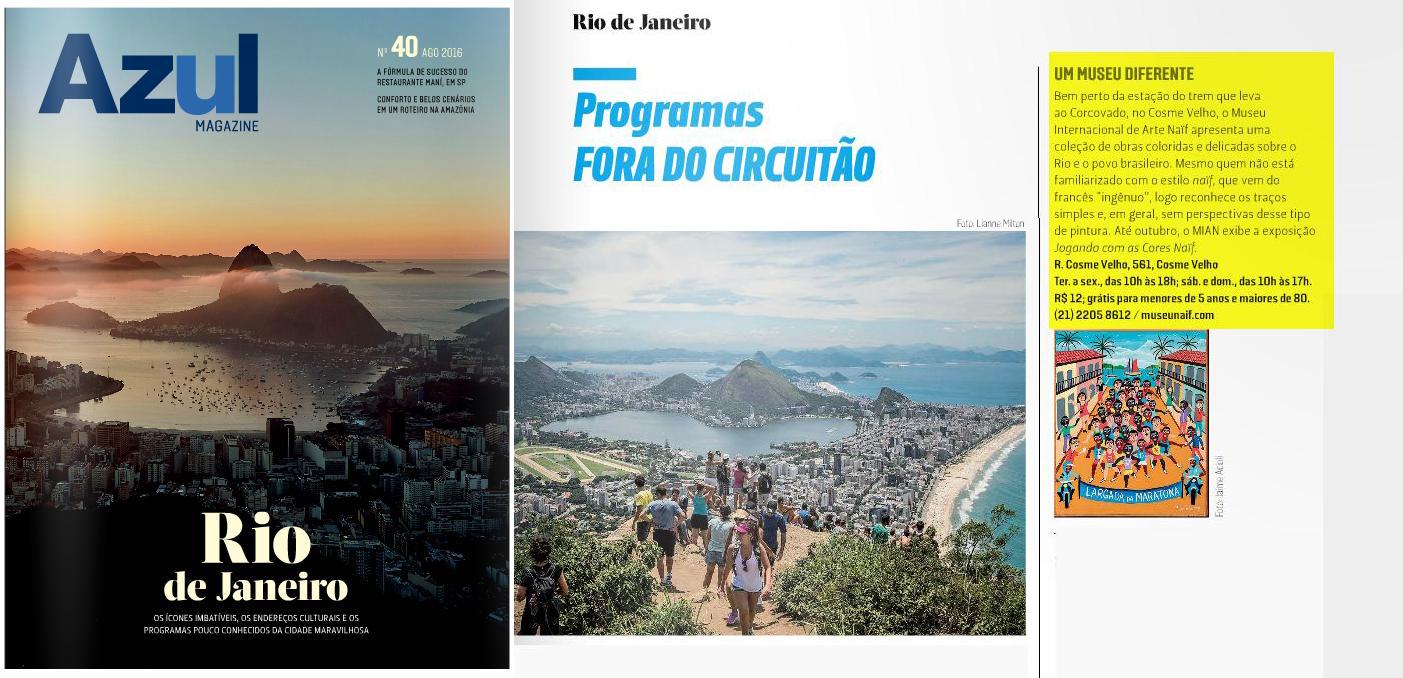 MIAN - Azul Magazine