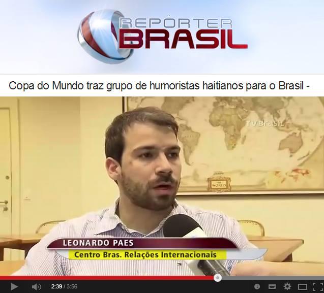 CEBRI - Repórter Brasil