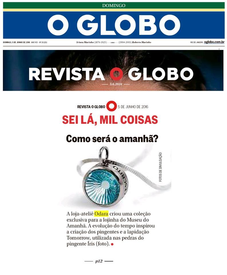 Odara - Revista O Globo