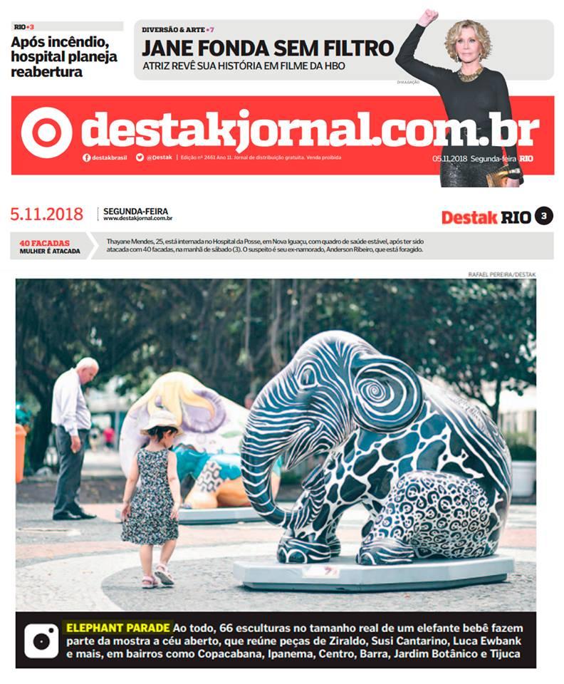 Elephant Parade Rio (Novembro/2018)