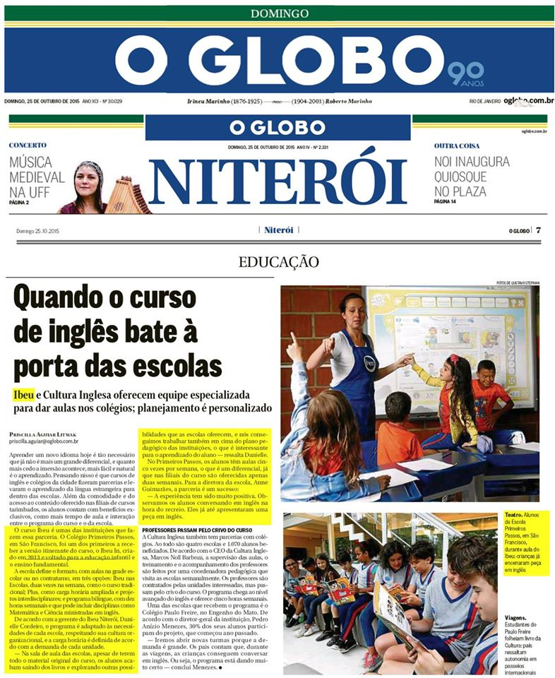 IBEU - O Globo/Niterói