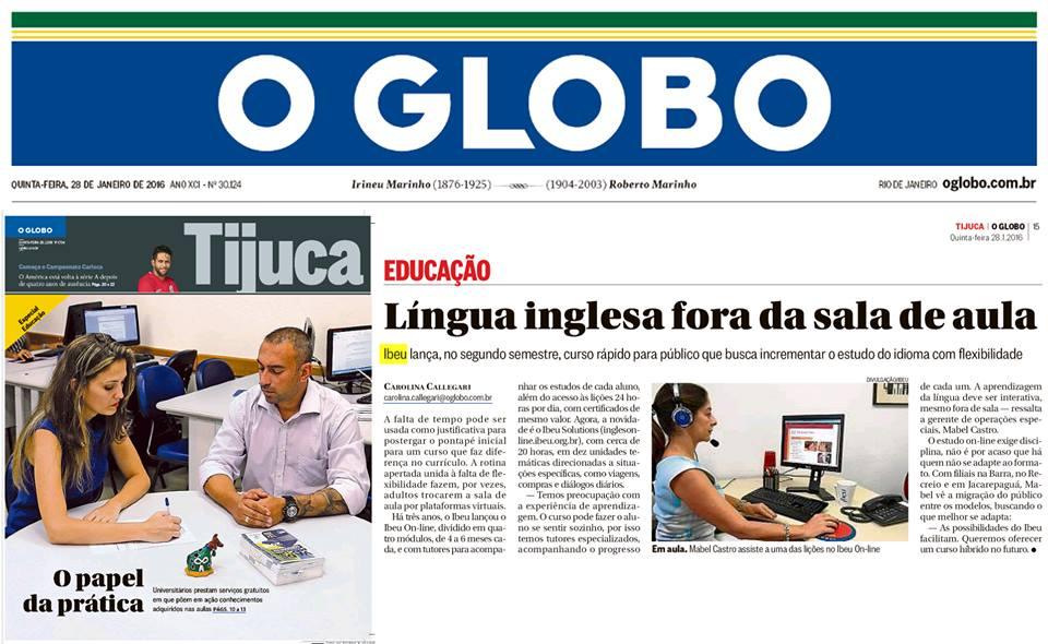 IBEU - O Globo/Tijuca