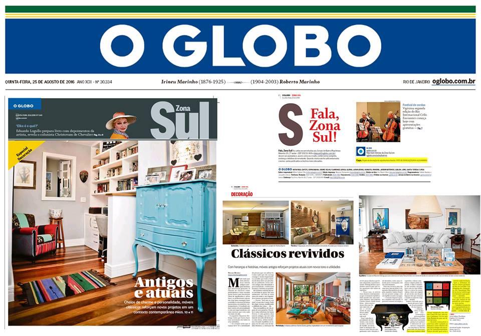 Katia Ibrahim - O Globo Zona Sul