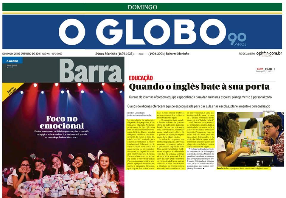 IBEU - O Globo/Barra