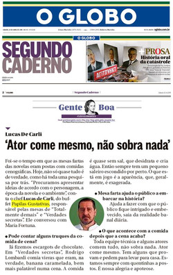 Papilas Gustativas - Col. Gente Boa