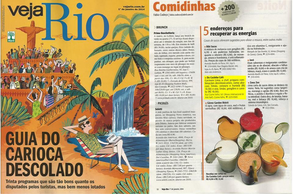 Da Cozinha Café - Veja Rio