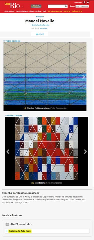 Galeria de Arte IBEU - Veja Rio